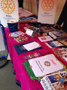 Rotary Club of Leicester Novus at Indian Summer