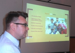 Mark Charlton talking about DMU Square Mile India