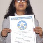 Bhakti Limbachiya, Mellor Rotary Star