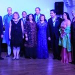 The 14 Novus Rotarians enjoying Hoillywood Bollywood 2018