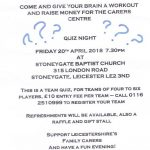 The Carers Centre Quiz Night