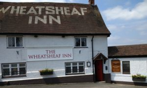 The Wheatsheaf Inn. Start and finish point for treasure hunt
