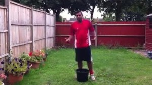 Dipan takes the ice bucket challenge