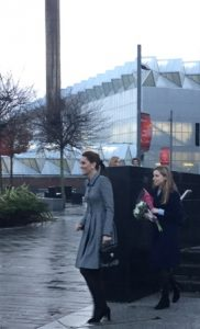 The Duchess of Cambridge at Leicester University photographed by Mai Tsumura