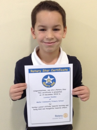 Lorenzo Dundas for having a great attitude towards learning and being kind and thoughtful towards others